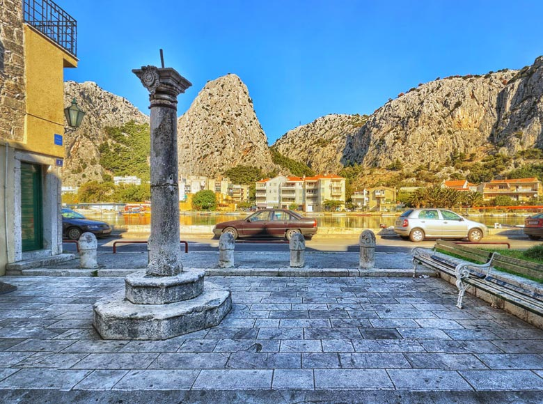 City of Omiš tourist board - 360split Professional photo shoot