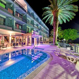 Complete solution of our services for Hotel Sirena in Podgora. From web site to video slideshow