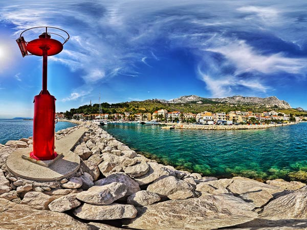 Project for Tourist Board of Podgora - 360split
